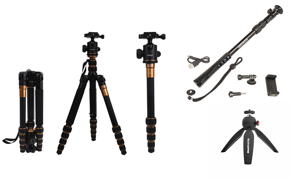 TRIPOD, MONOPOD, GORILLA POD – USE A MULTIPURPOSE TRAVEL TRIPOD