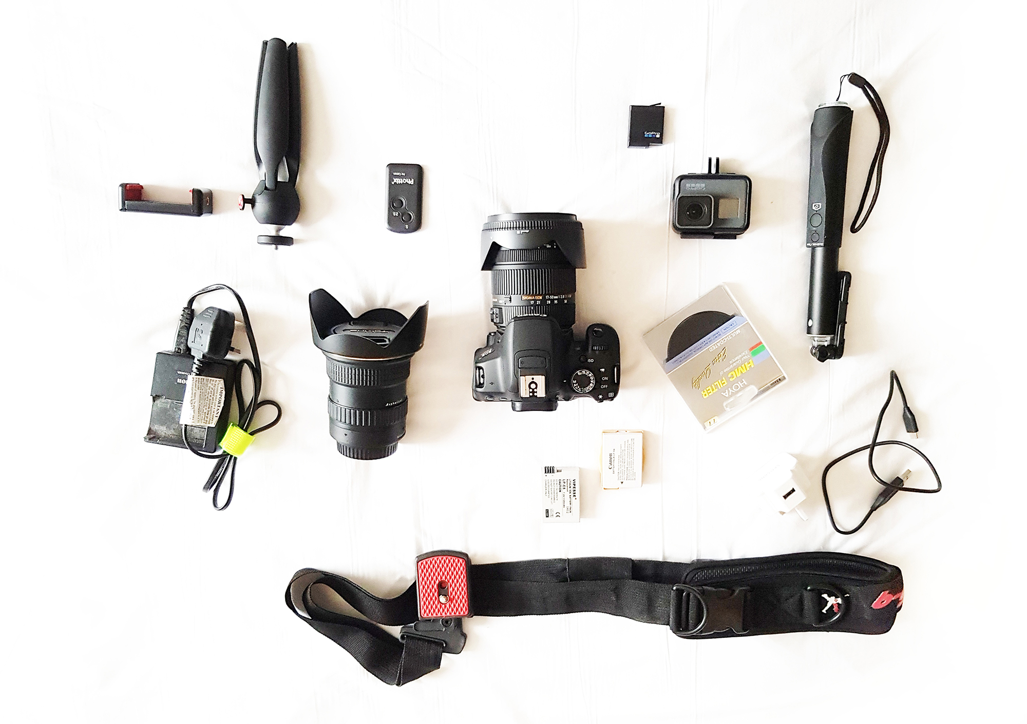 Traveling around the world What photography gears you should bring